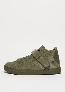 C&S Shoe Sashimi army green/gold