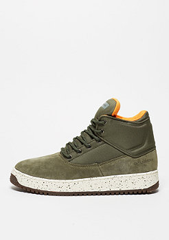 Schuh Shutdown army green/flight orange/cream