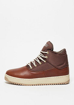 Stiefel Shutdown dark cognac/cream