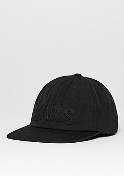 Strapback-Cap Tag Unstructured black