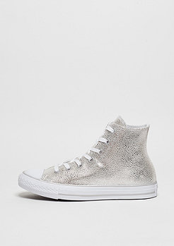 Schuh CTAS Leather Hi pure silver/black/white