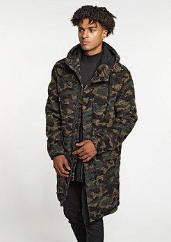 Hooded Wool Parka camo