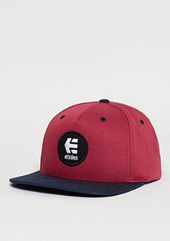 Snapback-Cap Rook burgundy