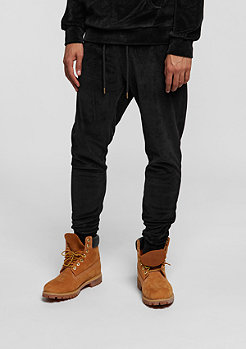 CD Jogger Velour black/gold