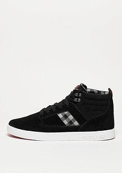 Schuh Bandit black/plaid/white