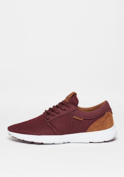 Hammer Run burgundy/brown/white