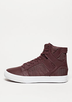 Skytop burgundy/white