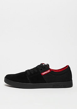 Schuh Stacks III black/red/black