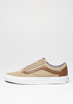 Skateschuh Old Skool C&L silver mink/true white
