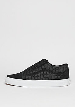 Old Skool Suede Checkers black