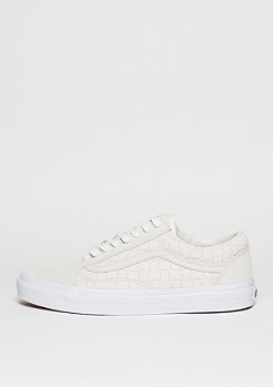 Skateschuh Old Skool Suede Checkers white