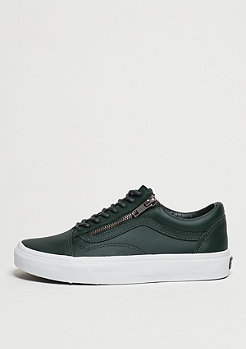 Skateschuh Old Skool Zip Antique Silver green gables/true white