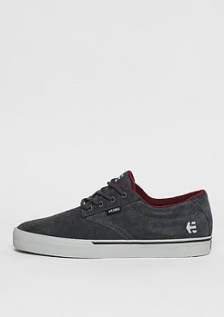Skateschuh Jameson Vulc dark grey/grey/red