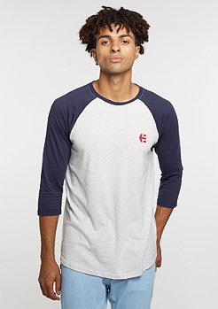 Baseline Raglan white/navy