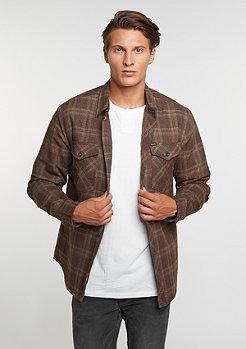 Hemd Manchester Flannel brown