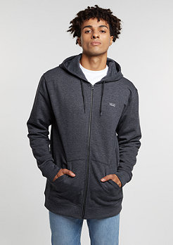 Hooded-Zipper Core Basics Zip Hoodie IV black heather