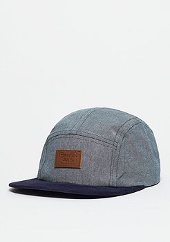 5-Panel Cap Grade light blue/navy