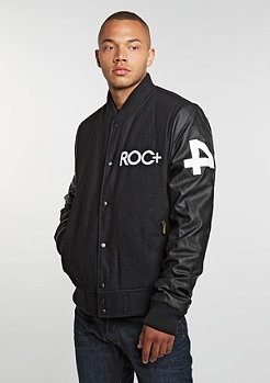 Rocawear Baseball Jacket black