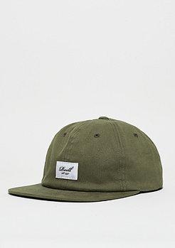 Snapback-Cap Flat 6-Panel olive