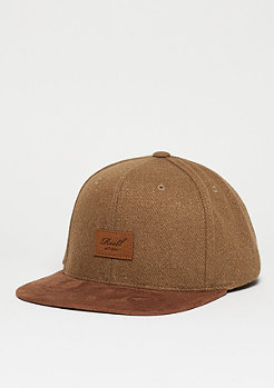 Suede 6-Panel camel wool