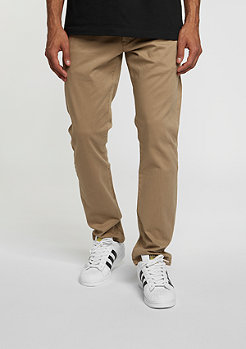 Flex Tapered Chino dark sand