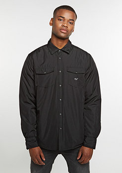 Padded Overshirt black