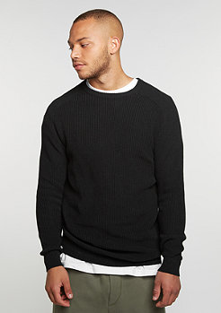 Knitted black