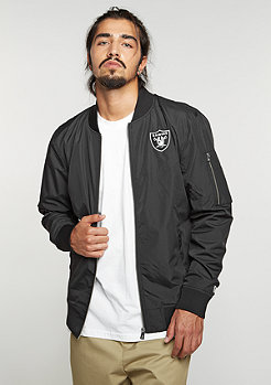 Bomber Jacket NFL Oakland Raiders black