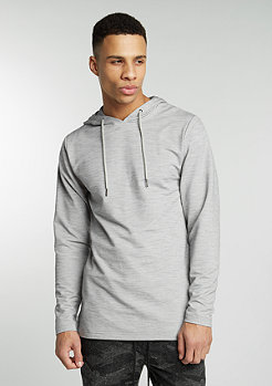 Hooded-Sweatshirt Jed grey