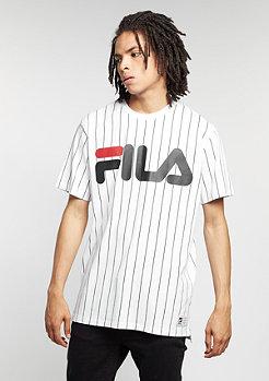 T-shirt Kolya white pinstripe