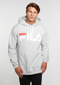 Hooded sweatshirt Crash light grey melange