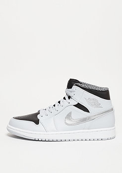Air Jordan 1 Mid pure platinum/white/metallic silver