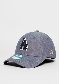 Baseball-Cap Felt Chambray MLB Los Angeles Dodgers navy