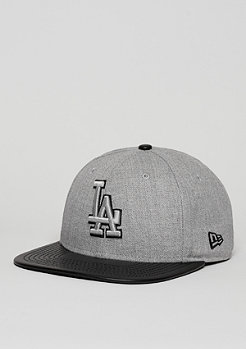 Snapback-Cap Heather Mix MLB Los Angeles Dodgers heather graphite/black