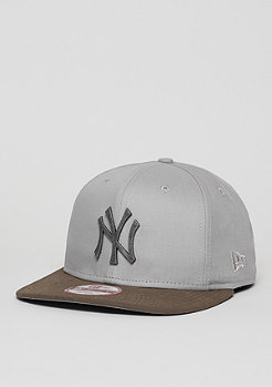 Snapback-Cap Classic Rust MLB New York Yankees grey/graphite