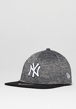 Fitted-Cap Flecked MLB New York Yankees grey/black/official