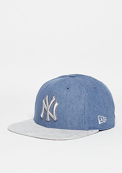 Snapback-Cap Rust MLB New York Yankees light royal/grey