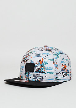 Snapback-Cap 9Fifty Offshore Crown Patch white/black
