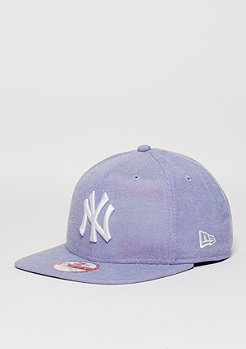 Snapback-Cap 9Fifty Oxford Lights MLB New York Yankees open market blue