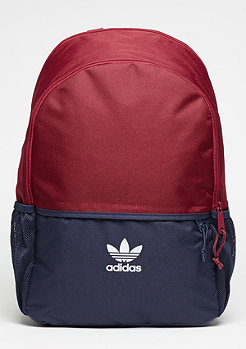 Rucksack Essential Adicolor collegiate burgundy/collegiate navy