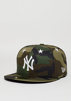 59Fifty Star Crown MLB New York Yankees woodland camo