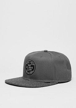 Snapback-Cap 6P SB Squeeze II grey