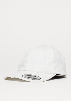 Strapback-Cap Low Profile Cotton Twill white