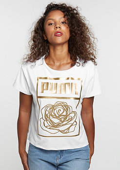 T-Shirt Puma x Careaux Logo white