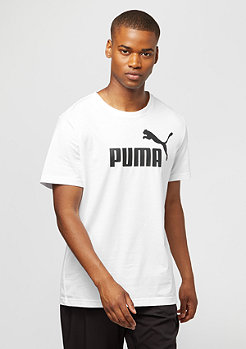 Puma T-Shirt ESS No. 1 Logo white