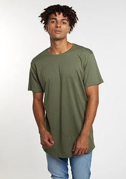 Urban Classics Shaped Long olive