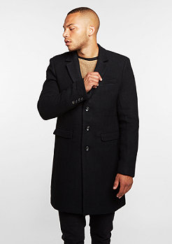 Black Kaviar Mantel Coat Kraster Black