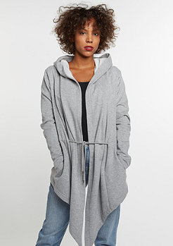 Hooded Sweat Cardigan grey