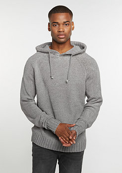 Hooded-Sweatshirt Chenille grey
