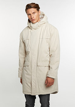 Cotton Peached Canvas Parka sand